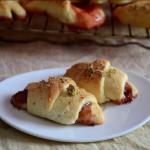 Eggless Hungarian Kiffles / Kipfels