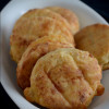 Eggless Pogacsa - Hungarian Savoury Cheese Buscuits