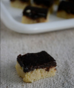 Milk Powder Chocolate Burfi / Double Decker Burfi