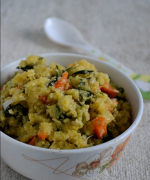 Broken Maize / Corn Meal Upma