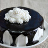 Eggless Tuxedo Cake