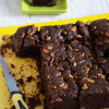 Eggless Chocolate Fudge Brownies