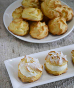 Cream Profiteroles Recipe