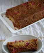 Eggless Cherry Cake