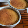 Eggless Condensed Milk Vanilla Cake - Perfect For Carving