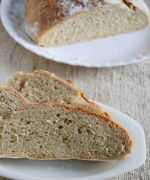 No Knead Rustic Crusty Bread