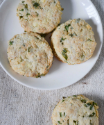 Herb and Cheese Biscuits Recipe - #Bread Bakers