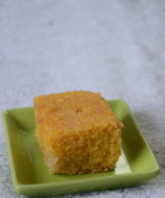 Broa de Fubá - Eggless Brazilian Corn Cake