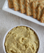 Roasted Yellow Bell Pepper Hummus