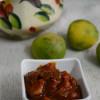 Naarthangai Oorugai / Kafir Lime Pickle