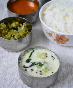 Vellarikkai Thayir Pachadi Recipe - Simple Lunch Menu 3