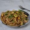 Spaghetti With Roasted Paneer