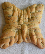 Eggless Poppy Seeds Woven Roll
