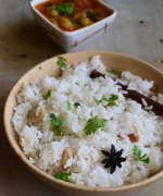 Thengaipaal Saadam / Coconut Milk Rice