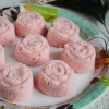 Rose Sandesh Recipe - Indian Milk Sweets