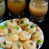 Pani Puri with Three Pani Flavours - Indian Street Food Recipe