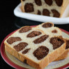 Eggless Brioche Leopard Bread Recipe