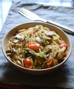 Spicy Mushroom Spaghetti Recipe