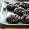 Eggless Chocolate Crinkle Cookies - Easy Cookies