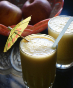 Sugar Free Apple Orange Smoothie Recipe