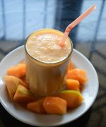Muskmelon Banana Smoothie Recipe
