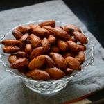 Oven Roasted Almonds Recipe - Vegetarian Paleo Recipes