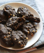 Egg Free Buckwheat Choco Chip Butterscotch Cookies - Easy Gluten Free Cookies
