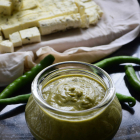Homemade Green Chilly Sauce Recipe - Condiment Recipes