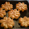 Peynirli Cicek Pogaca/ Turkish Flower Bread Recipe - #BreadBakers