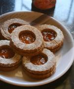Eggless Linzer Cookies - Austrian Christmas Cookies