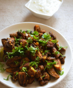 Grilled Mushrooms and Baby Eggplants - Easy Paleo Recipes