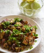 Grilled Chutneywale Paneer Recipe