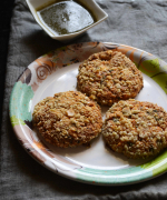 Almond Crusted Paneer Feta Cutlet Recipe