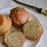 Almond Flour Sandwich Buns - #BreadBakers