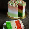 Tri Coloured Cream Cake - Independence Day Special Video