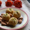 Sugar Free Paneer Almond Ladoo  - Indian Milk Sweet Recipes