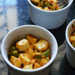Baked Cheesy Paneer - Easy Low Carb Recipes
