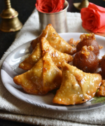 Gulab Jamun Samosa - Indian Milk Sweet Recipes