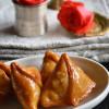 Kheer-er Shingara - Mawa Samosa - Indian Milk Sweet Recipes