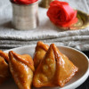 Kheer-er Shingara - Mawa Samosa - Indian Milk Sweet Recipes