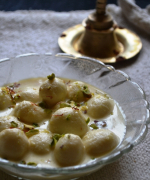Kheer Sagar / Angoori Rasmalai - Indian Milk Sweet Recipes