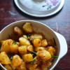Garlic Potato Roast - Easy Side Dish Recipes