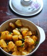 Garlic Potato Roast - Easy Side Dish Recipes
