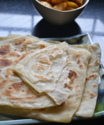 F - Farata - Mauritius Flat Bread - A-Z Flat Breads Around The World