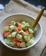 Cucumber Carrot Salad - Easy Summer Salad Recipe