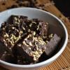 Chocolate Coconut Burfi - Rakshabandan Sweets