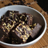 Chocolate Coconut Burfi - Rakshabandan Sweets