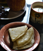 N - Newari Swari Bread - Nepalese Deep Fried Bread - A-Z Flat Breads Around The World