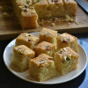 Iyengar Bakery Style Eggless Mwaw Sooji Cake - Video Recipe