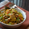 Khari Bhat - Gujarathi Masala Bhat Recipe